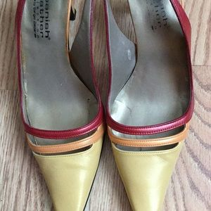 Spanish Leather by Sergio Zelcer Slingback